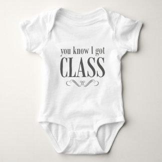 You Know I Got Class Baby Bodysuit