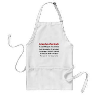 You Know You re A Psych Nurse IF Aprons