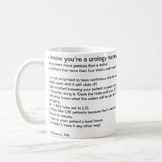 You know you're a urology nurse when… mugs