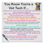 You Know You're a Vet Tech If...