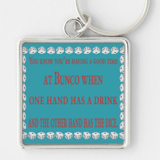 you know you're having a good time key ring