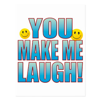 You Laugh Life B Postcard