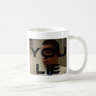 You Lie Basic White Mug