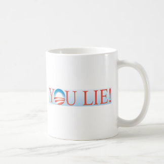 You Lie Coffee Mug
