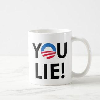 YOU LIE T-SHIRT & GIFTS COFFEE MUG