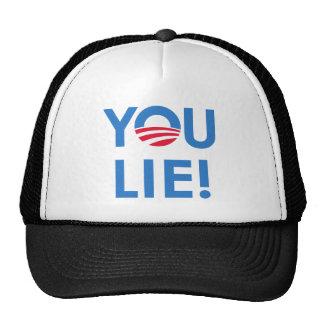 YOU LIE T-shirt Mesh Hats