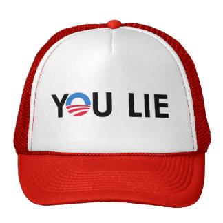 You Lie T-shirts Mesh Hat