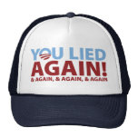 You Lied Again! Mesh Hat