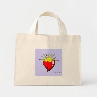 You light up my life mini tote bag