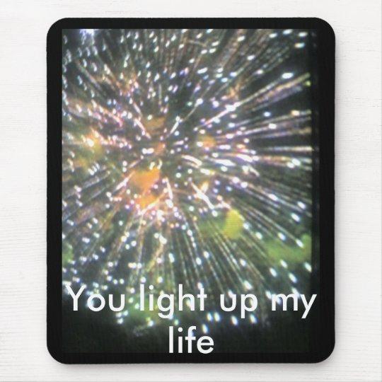 you light up my life mouse mat