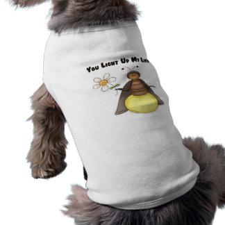 You Light Up My Life Sleeveless Dog Shirt
