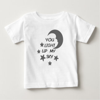 You Light Up My Sky Baby Tee