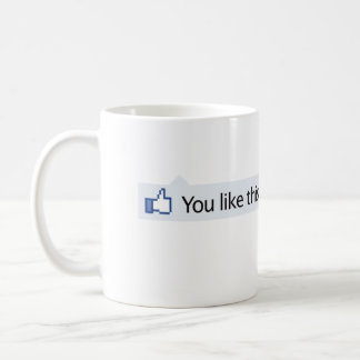 you like this Facebook thumbs up Mugs