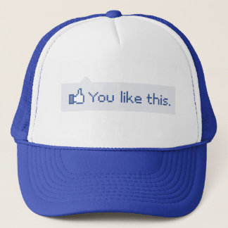 You Like This Funny Facebook Trucker Hat