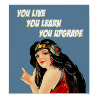 You Live. You Learn. You Upgrade - Poster