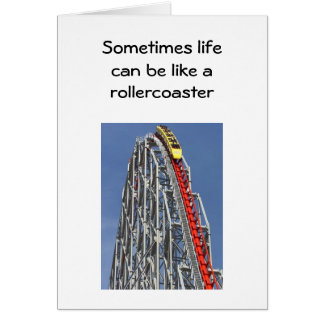 YOU LL BE THERE AT THE END OF THE RIDE GREETING CARDS
