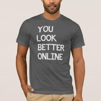 YOU LOOK BETTER ONLINE CATFISH SHIRT