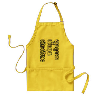 You Look Funny With You Head Turned Sideways Standard Apron