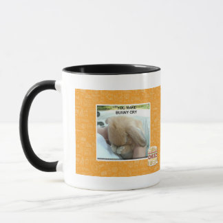 You make bunny cry mug