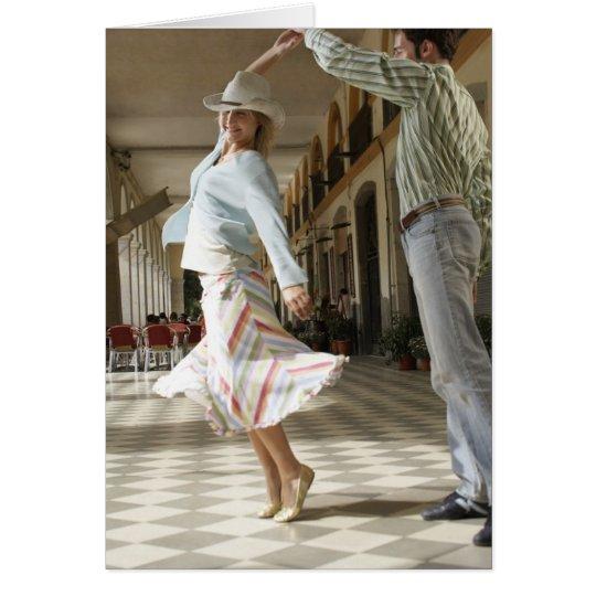 You make me feel like dancing card