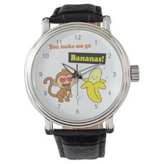 You make me go Bananas, Cute Love Humor Watch