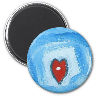 YOU MAKE ME SMILE 6 CM ROUND MAGNET