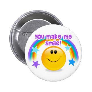 you make me smile! pins