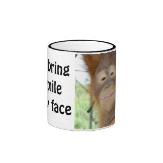 You Make Me Smile Ringer Mug