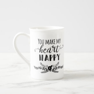 You Make My Heart Happy Mug (White)