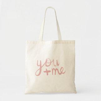 You + Me Budget Tote Bag