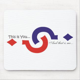 You & me souvenir mouse pads