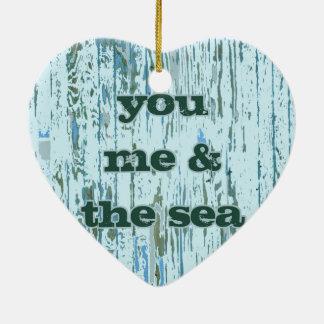 You Me & The Sea Christmas Ornament