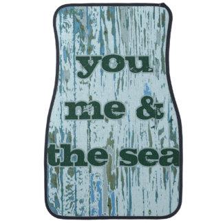 You Me & The Sea Floor Mat
