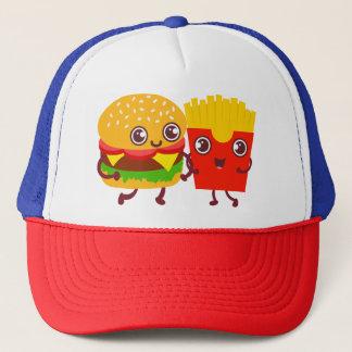 You & me trucker hat