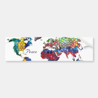 You Mean the World to Me Collection Bumper Sticker