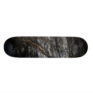 You melted my heart and it ran in rivers of gold 21.6 cm old school skateboard deck