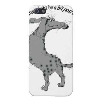 You might be a bit past it...old dog iPhone 5 covers