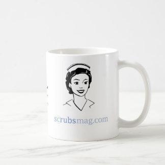 "You might be an ""ol' school"" nurse if… basic white mug"