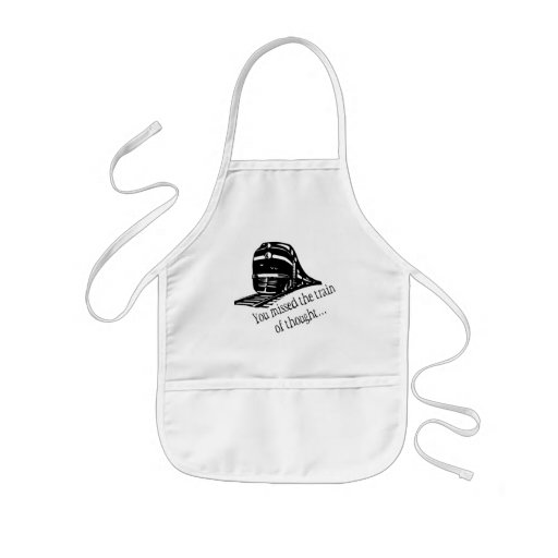 You Missed The Train Of Thought... Apron