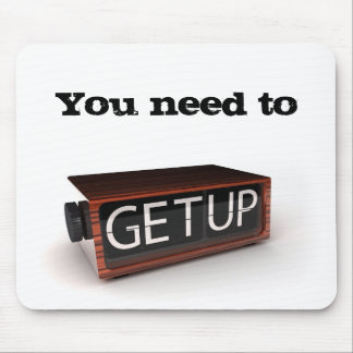 You need to get up mouse pad