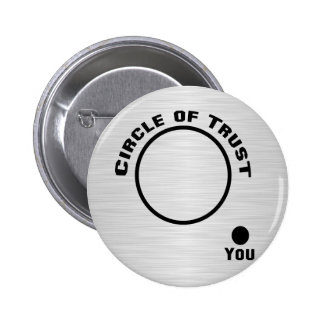 You Outside the Circle of Trust 6 Cm Round Badge