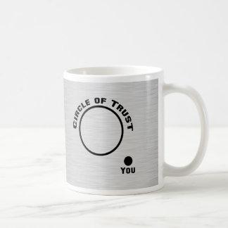 You Outside the Circle of Trust Basic White Mug