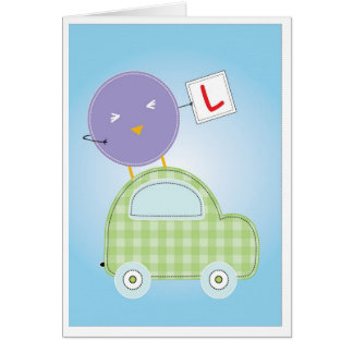 You Passed Driving Test Greeting Card