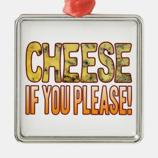 You Please Blue Cheese Christmas Ornament