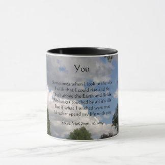 You Poem, Ringer Mug