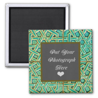 YOU R THE STAR PERSONALIZE THIS SQUARE MAGNET