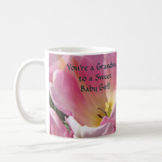 You re a Grandma to a Sweet Baby Girl coffee cup Mugs
