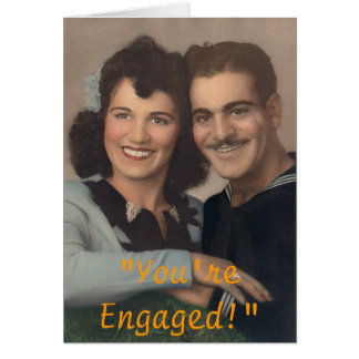 You re Engaged Cards