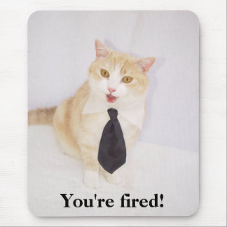 You re Fired Mouse Mats