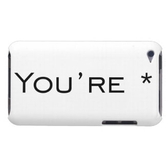 You re - Grammar Correction iPod Touch Cases